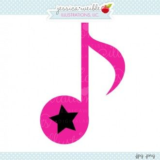 Drawn music notes rock star #music star Hot #clipart Music