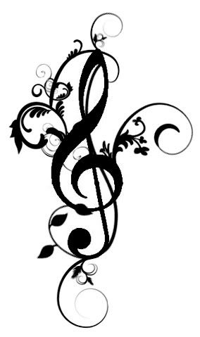 Drawn music notes small Ideas Diana Tattoos Fancy Small