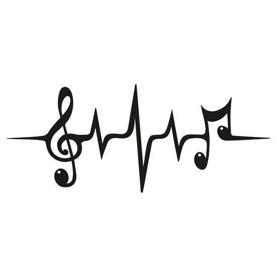 Drawn music notes small Music best  ideas tattoo