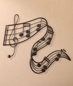 Drawn music notes symbol art #9