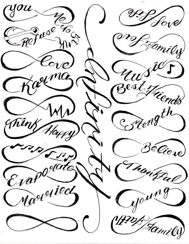 Drawn music notes symbol art #12