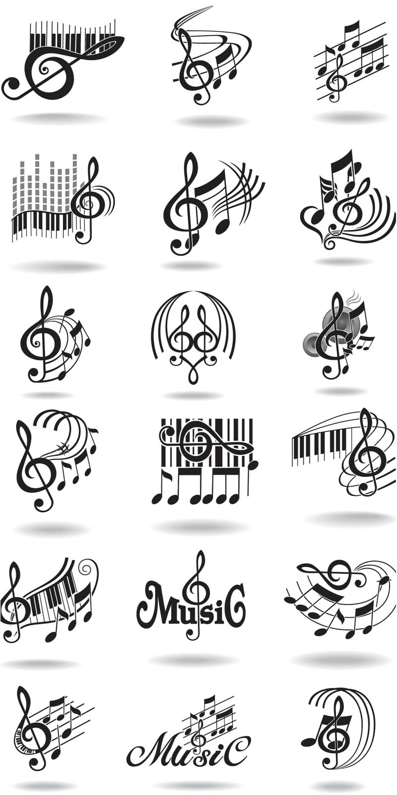 Music clipart musical show Music Vector clef Graphics Graphics