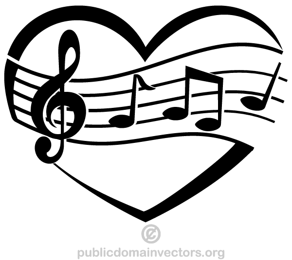 Musical clipart music score Free Musical Free Vector Vector