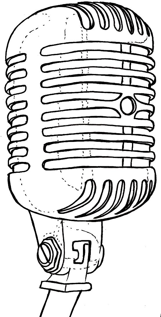 Drawn microphone old fashioned Pinterest ideas 25+ School by