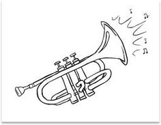 Drawn music orchestra Orchestra Instruments} coloring pages