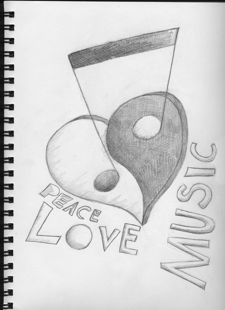 Drawn music And Drawings Pinterest drawings more!