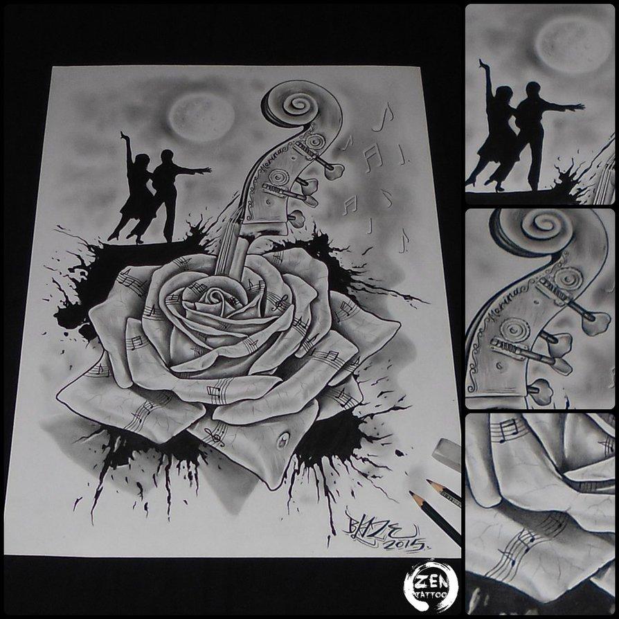 Drawn music Blaze  drawing pencil drawing