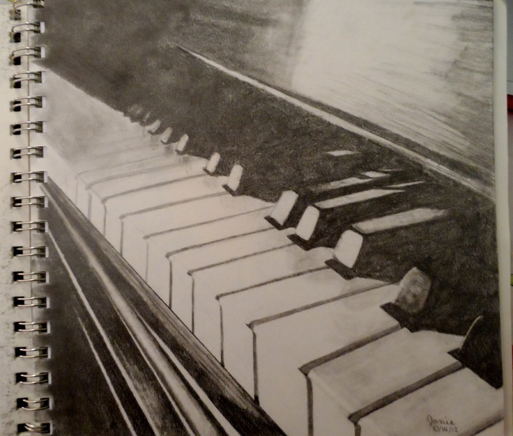 Drawn musical piano Images 33 #drawing on best