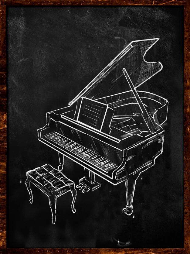 Drawn music piano Piano Download Piano Grand music
