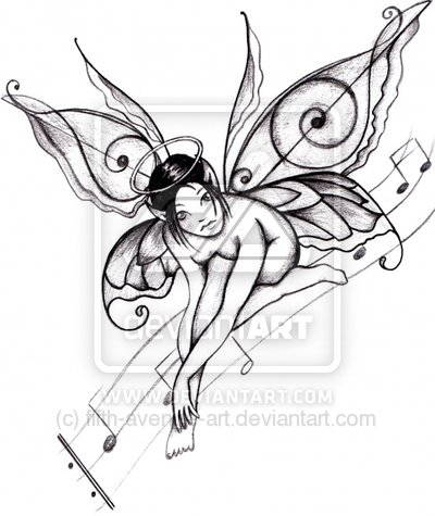 Drawn music wing Differently drawn I'd I it