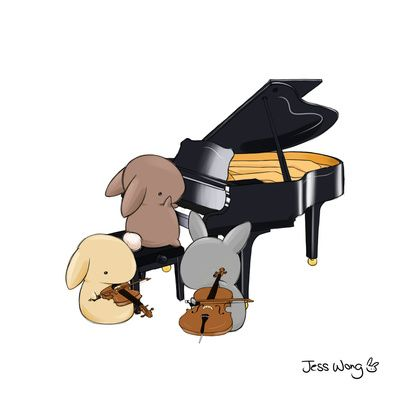 Drawn musical bunny Pinterest 942 images Bunny All