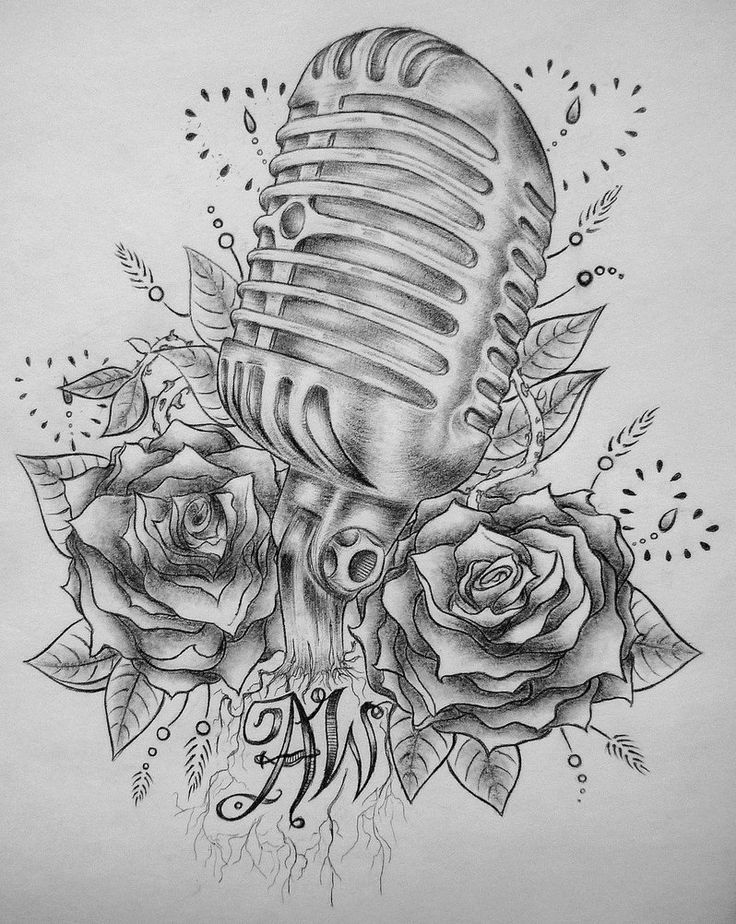 Drawn musical old style On by ~SCENE ideas tattoo