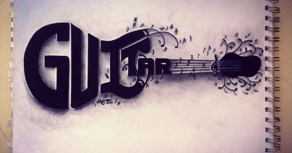 Drawn musical the word By: Art Art