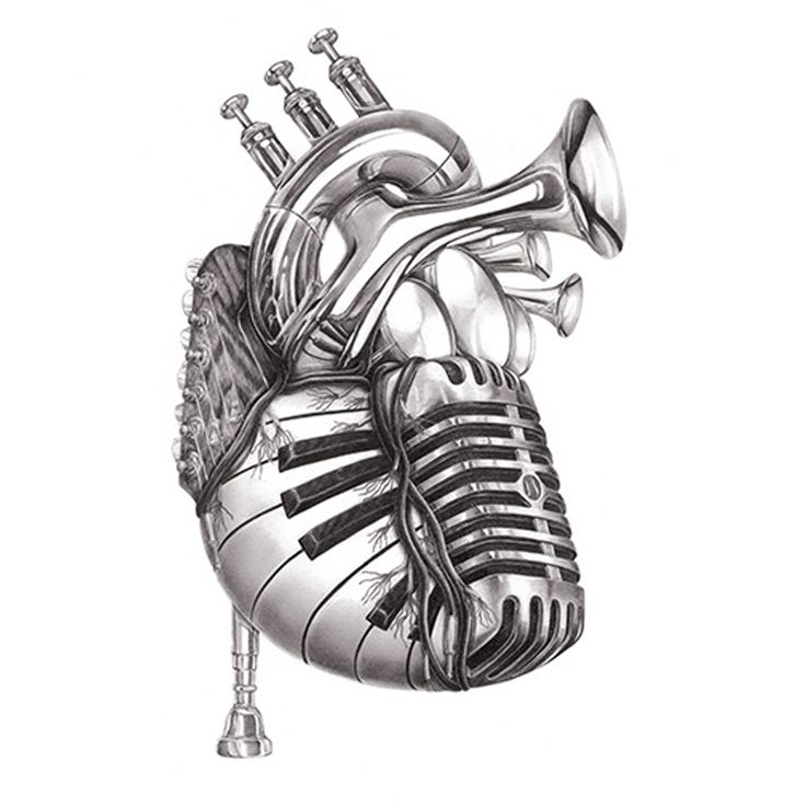 Drawn quoth music On of ideas 25+ Heart