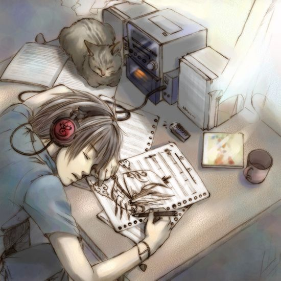 Drawn musician anime This Pinterest Find With and