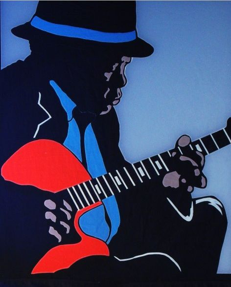 Drawn musician beautiful music Lee John Lee Musicians Hooker