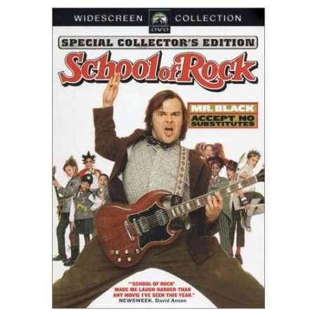 Drawn musician back to school Schoolofrock to Movies School About