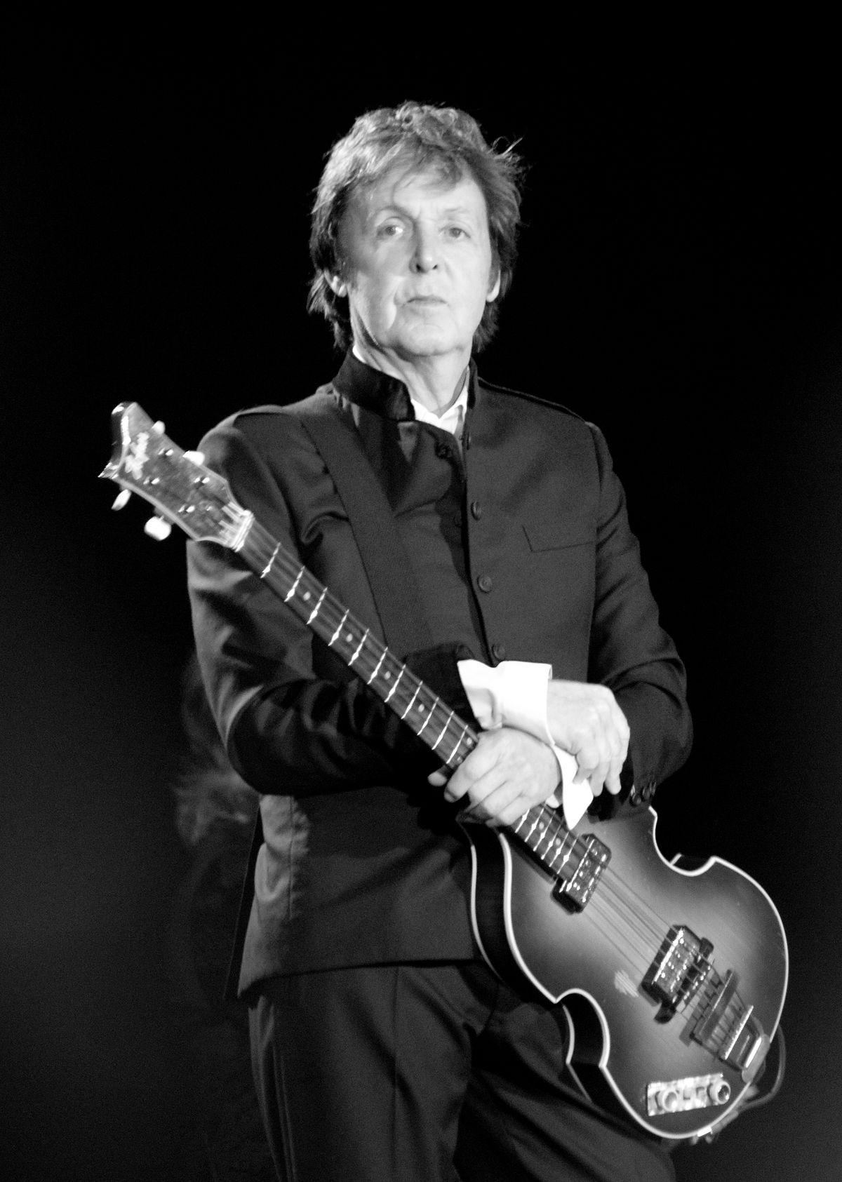 Drawn musician back to school  Paul Wikipedia McCartney