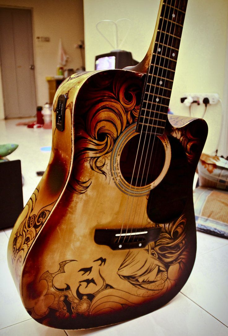 Drawn musician beautiful heart 366 Find more pimped best
