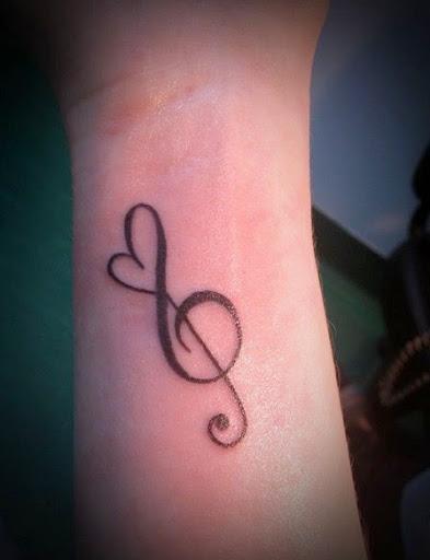 Drawn musician beautiful heart Music Music Tattoo Cool Designs
