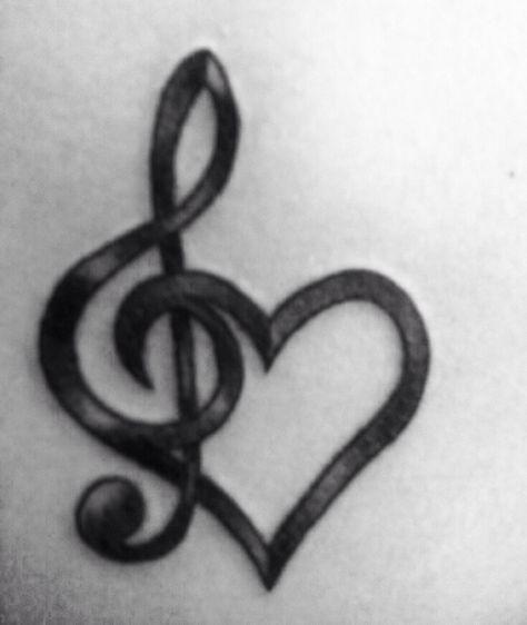 Drawn musician beautiful heart Music 10 Designs heart Pinterest