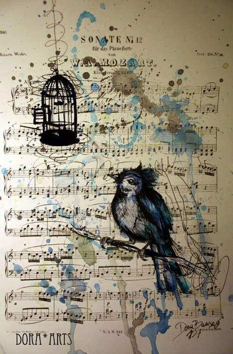 Drawn musician creative Dora Creative drawings and Most