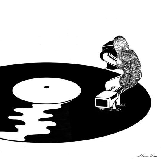 Drawn musician destiny Artist: illustration Henn Illustration