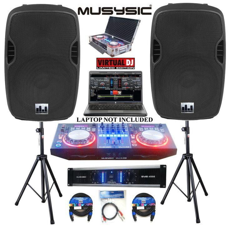 Drawn musician dj speaker USB Dj system Speakers ideas