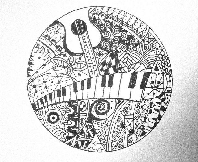 Drawn musician doodle art Doodle Musical Doodle best images