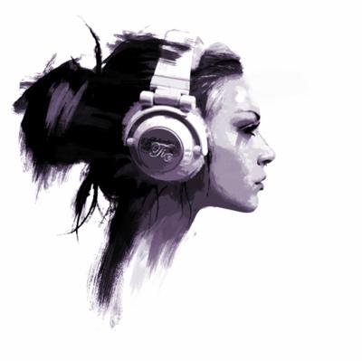Drawn musician headphone Drawing Cool music favim music