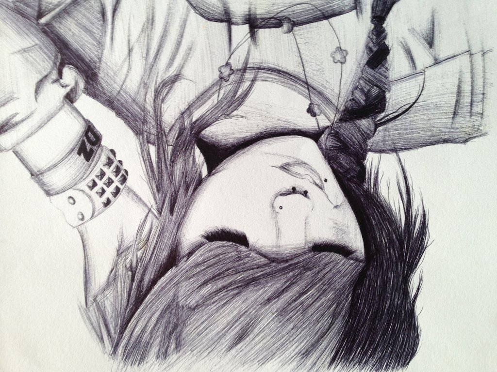 Drawn musician leda Wallpaper band Search ghost Pinterest