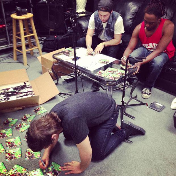 Drawn musician leda CDs sign Way Media'd to