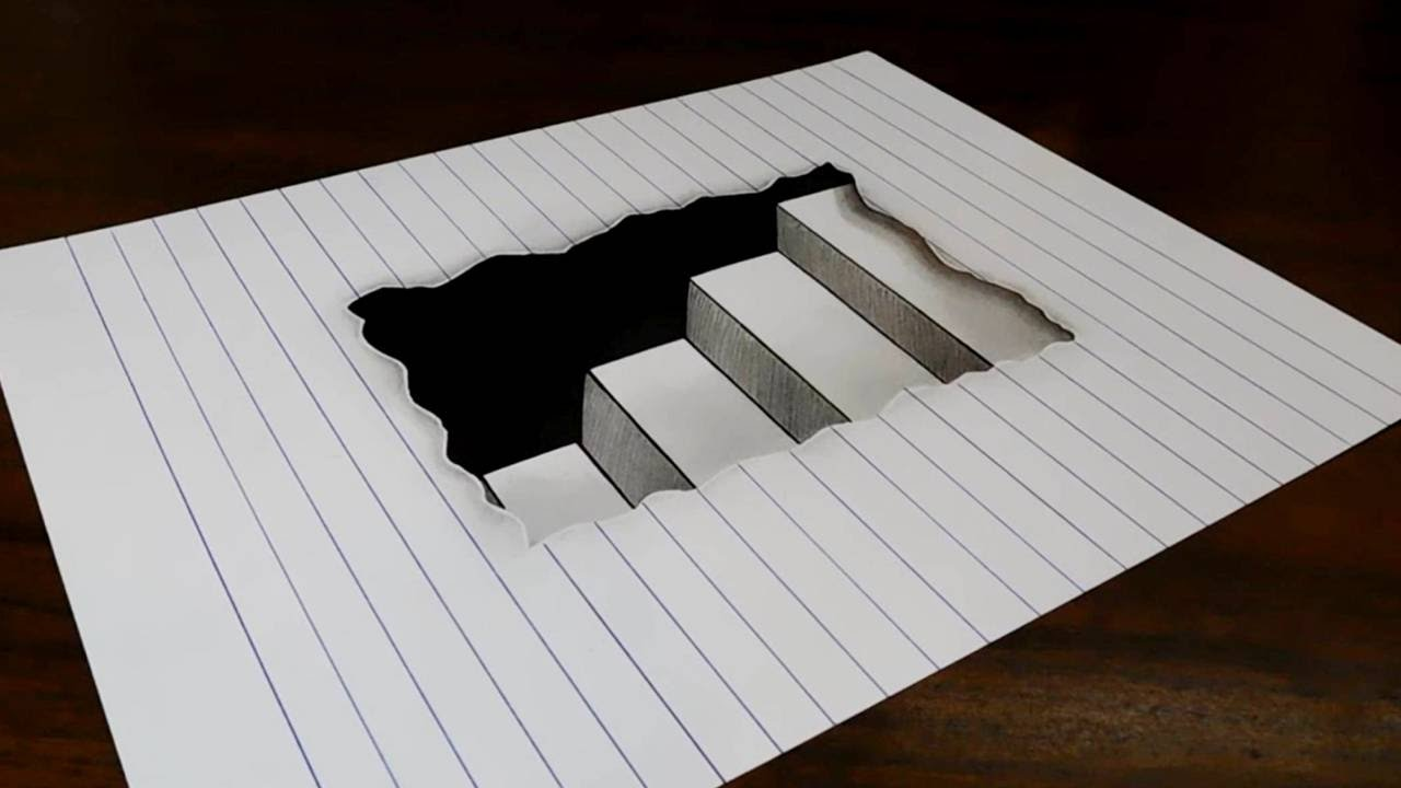 Drawn musician lined paper Paper How How to in