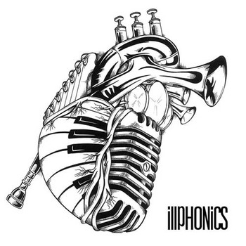 Drawn musician music mic Hearts made out made instruments