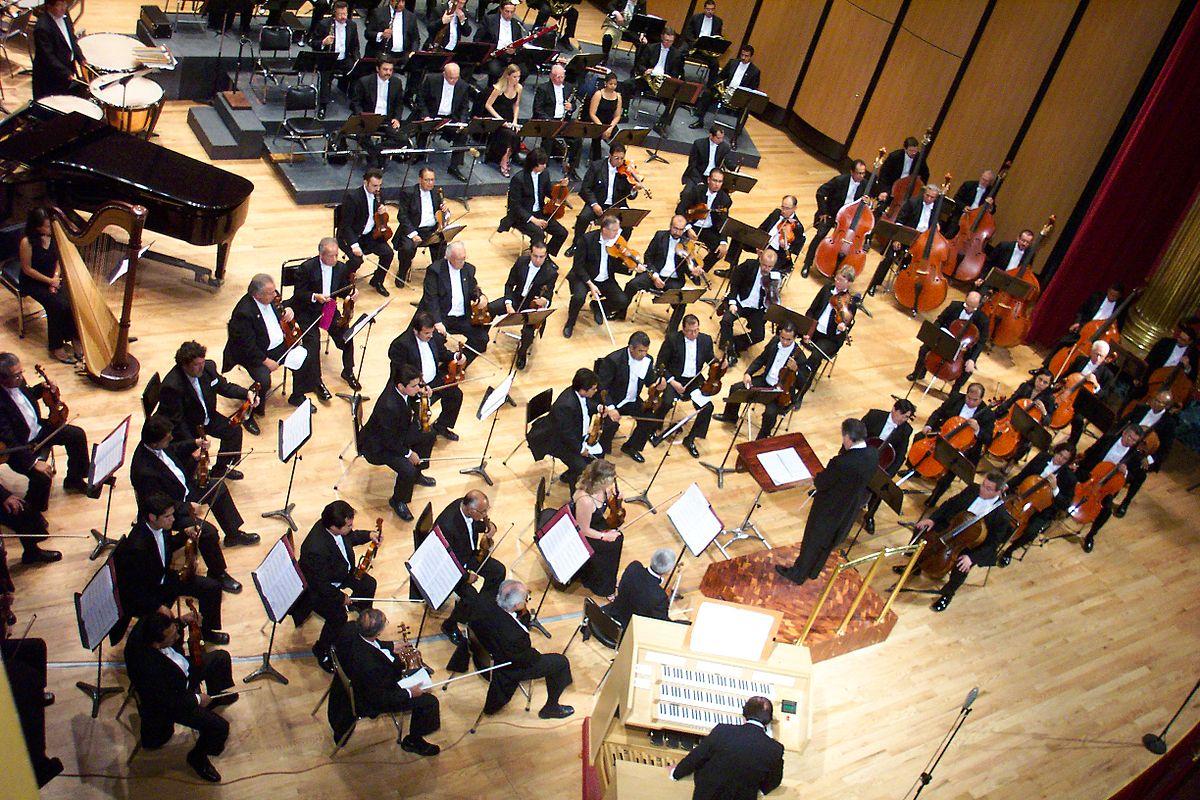 Drawn musician orchestra  Wikipedia Orchestra
