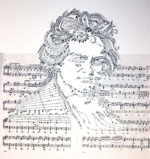 Drawn musician paper Creative Most Artworks 21 CMUSE