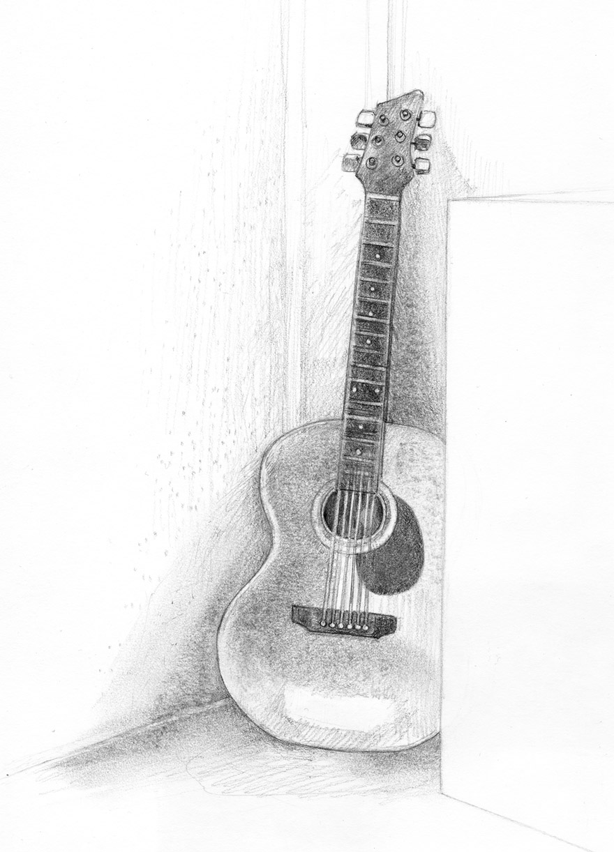 Drawn musical i love Guitar Fossforous: Things:  Tuesday