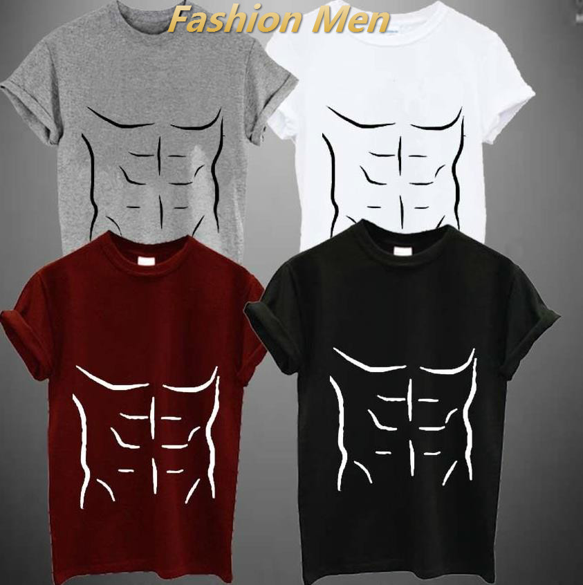 Drawn shirt muscle Tee T  shirt Popular