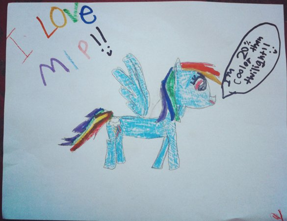 Drawn my little pony 10 year old Was Old short affair a