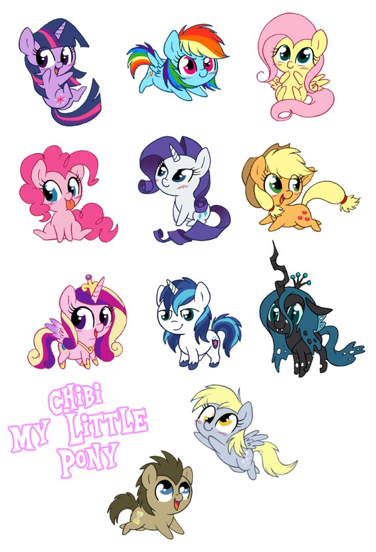 Drawn my little pony 10 year old Ideas Little Chibi Pinterest 25+