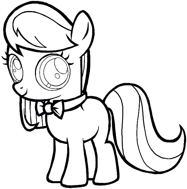 Drawn my little pony littel How Step My by from