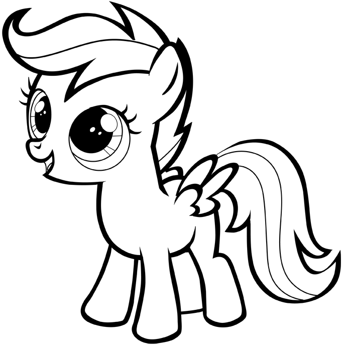 Drawn my little pony Drawing My Step to tutorial