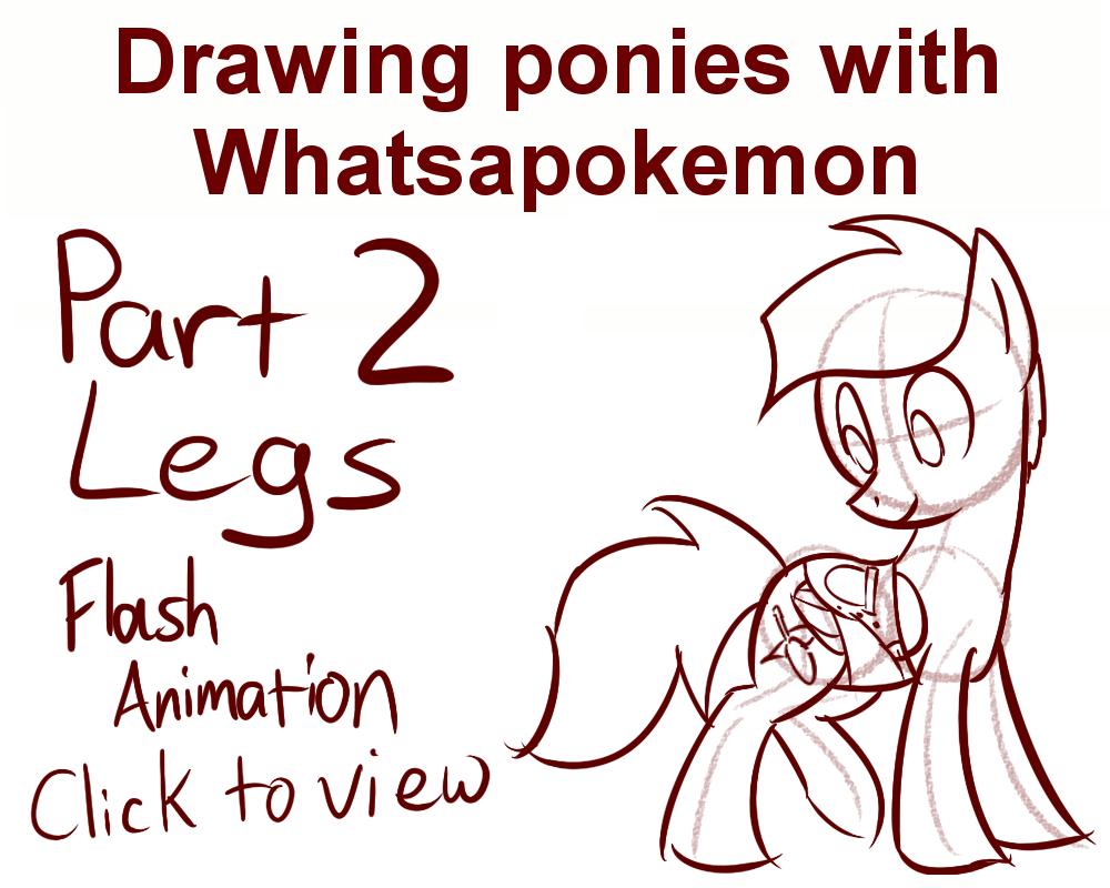 Drawn my little pony anatomy Whatsapokemon DeviantArt by with on