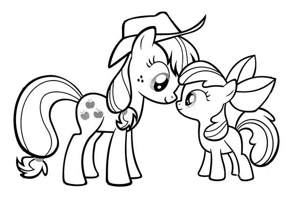 Drawn my little pony apple bloom My Bloom DownloadPrint Page Coloring