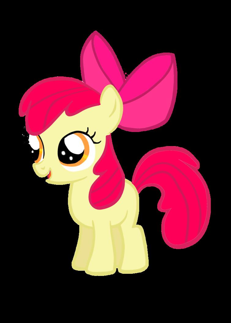 Drawn my little pony apple bloom Pony little bloom my apple