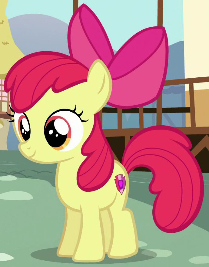 My Little Pony clipart apple bloom  Wiki Apple Friendship Bloom