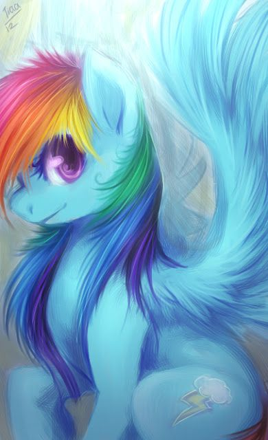 Drawn my little pony awesome And friendship Rainbow mlp my