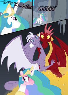 Drawn my little pony bad dragon Tim my my pony this