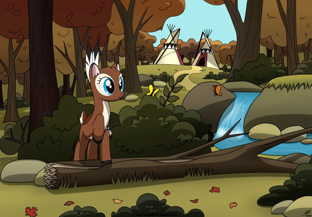 Drawn my little pony bambi By DeviantArt Dyani Playground by