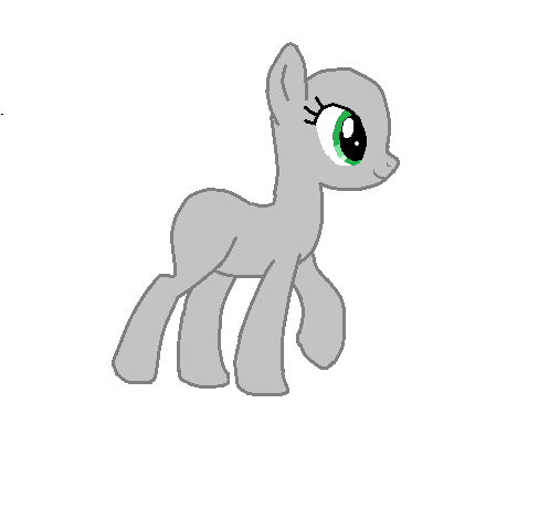 Drawn my little pony base earth Base Base Earth Walking Earth